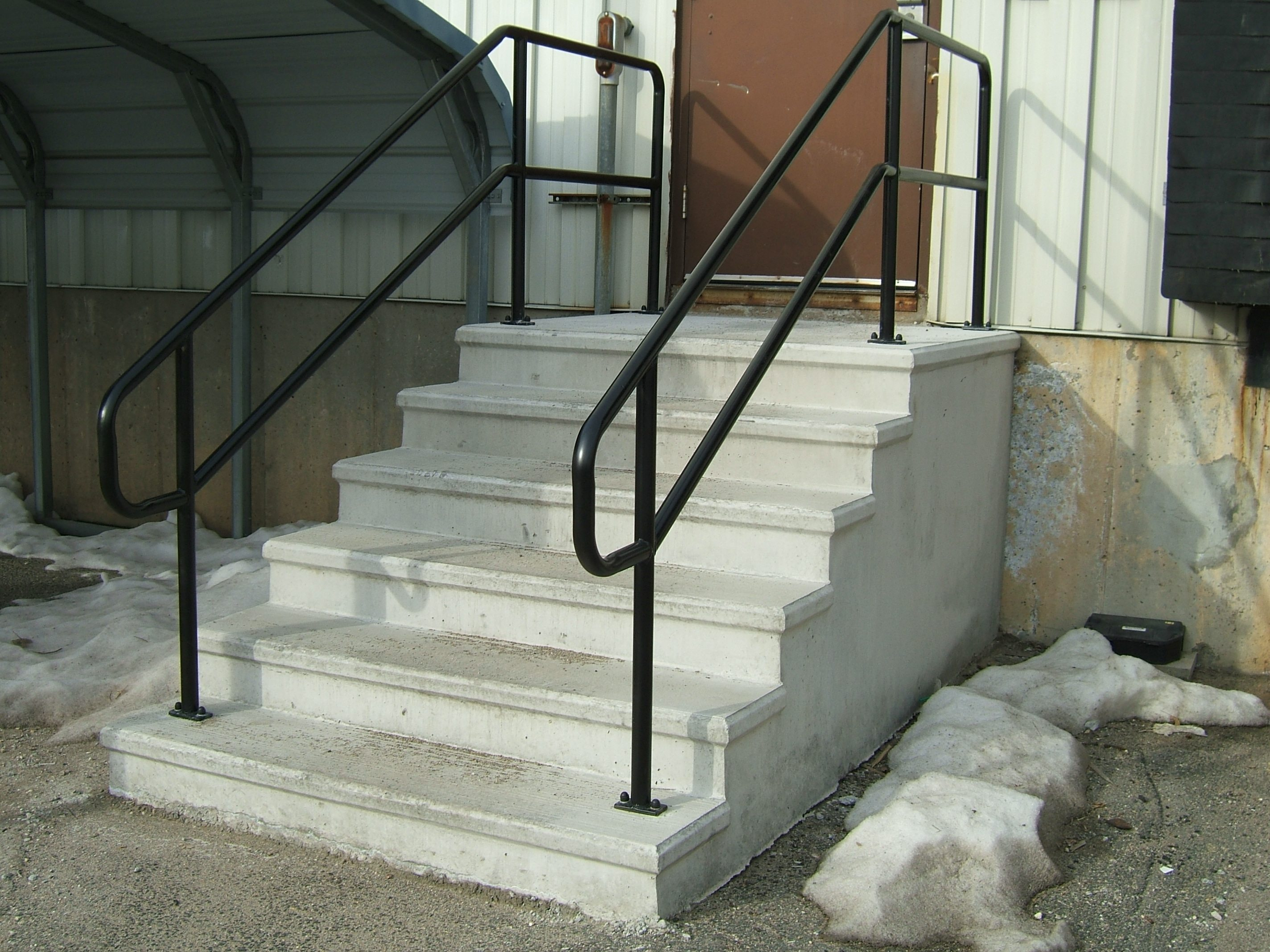 Exterior Stair Railings