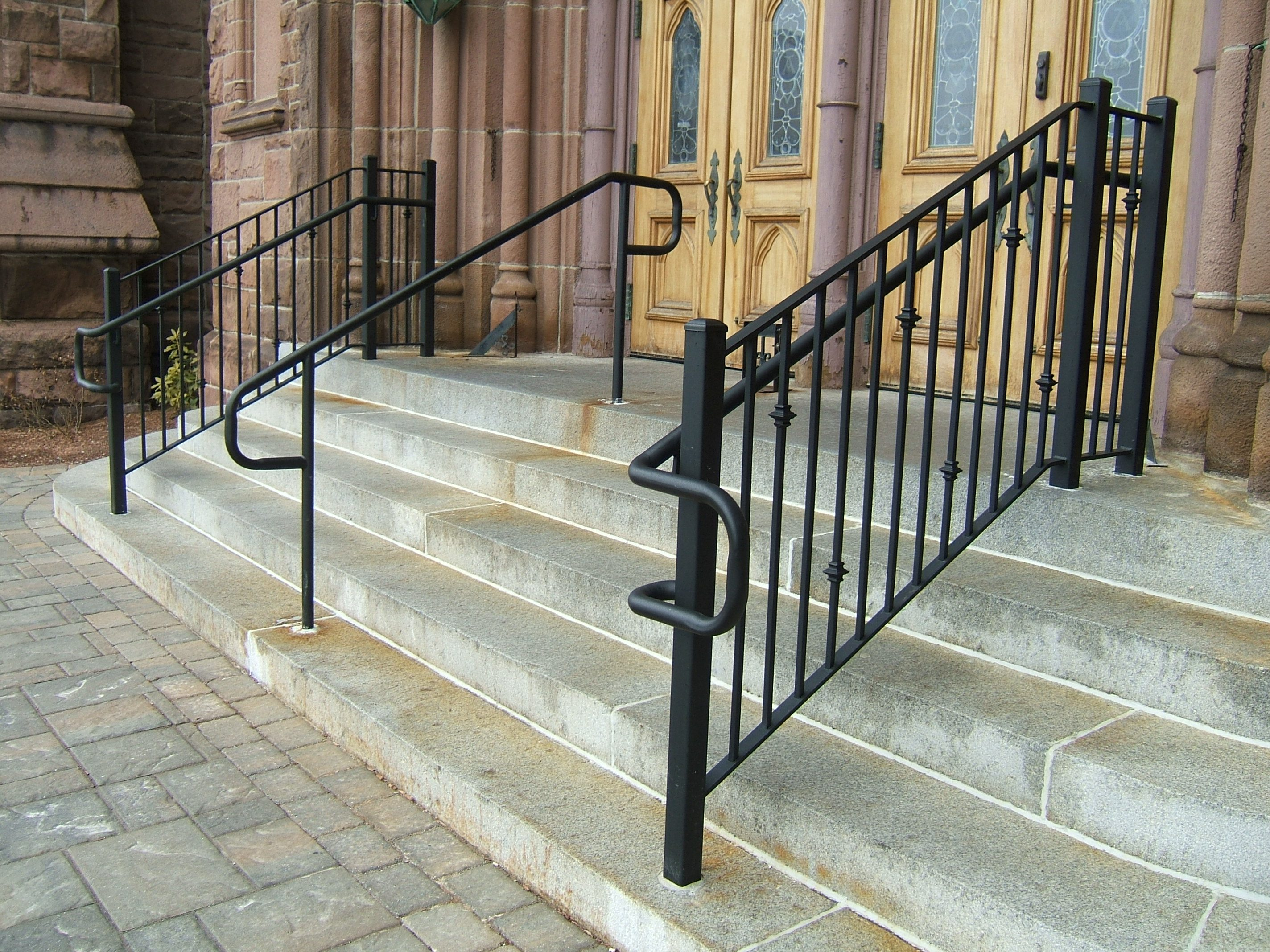 Commercial Railings Custom Metal Fences Custom Rail Tech
